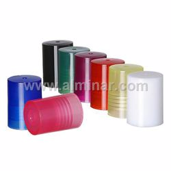 Picture of Golden - 12 Pcs - 10mm Plastic Cap for Rollon Bottles