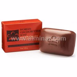 Picture of Nubian Heritage - Ivorian Cocoa Butter Bar Soap 5 oz