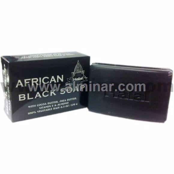 Picture of HALAl African Black Soap 100% egetable Base 6.3 oz