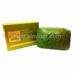 Picture of Nubian Heritage - OLive & Green Tea Bar Soap 5 oz
