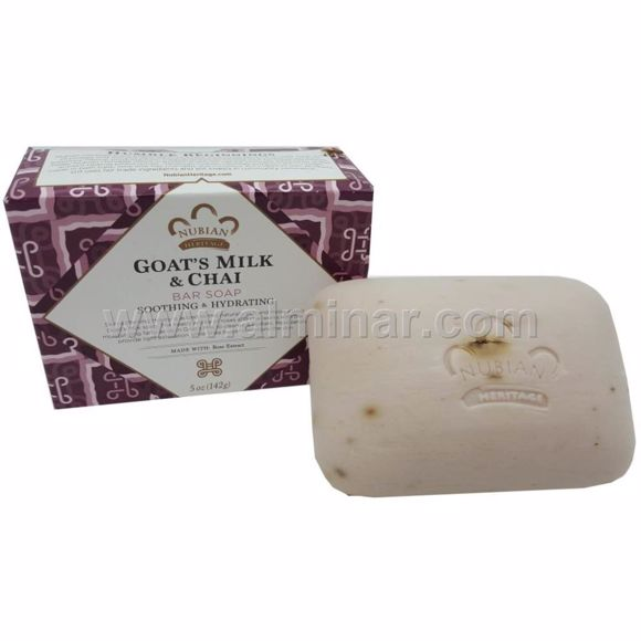 Picture of Nubian Heritage - Goat's Milk & Chai Bar Soap 5 oz