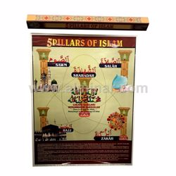 Picture of 5 Pillars of Islam - Poster - Medium Size