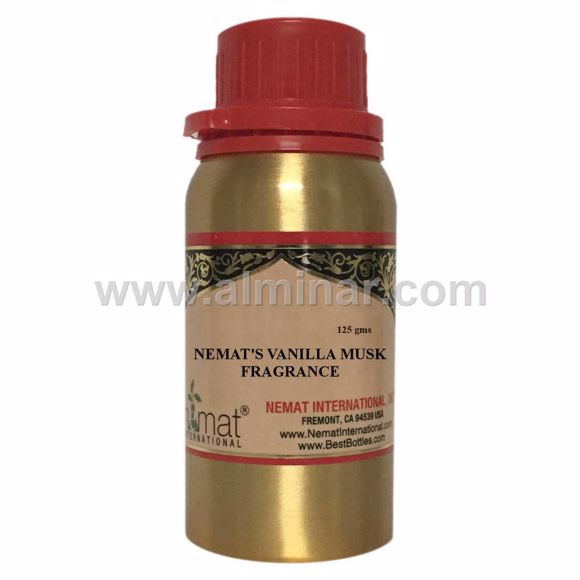 Picture of Vanilla Musk Fragrance  - Concentrated Fragrance Oil by Nemat