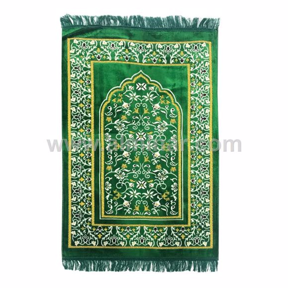 Picture of Turkish Prayer Rug Single 70cm x 110cm - 450gm