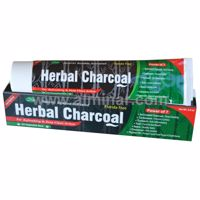 Picture of 12 Pieces - Herbal Charcoal Toothpaste w/ Xylitol 7 in 1 [Fluoride Free] [6.5 oz]