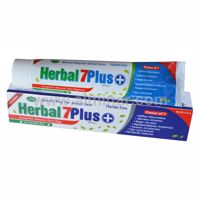 Picture of 6 Piece - Herbal 7Plus Toothpaste w/ Xylitol 7 in 1 [Fluoride Free][6.5 oz]