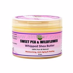 Picture of  Mine Botanicals Sweet Pea & Wildflower Whipped Shea Butter 8 oz
