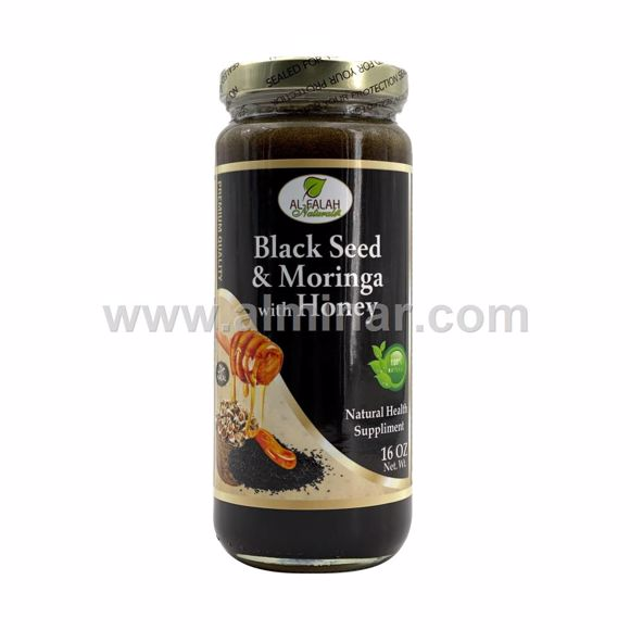 Picture of Black Seed & Moringa with Honey - 16 OZ