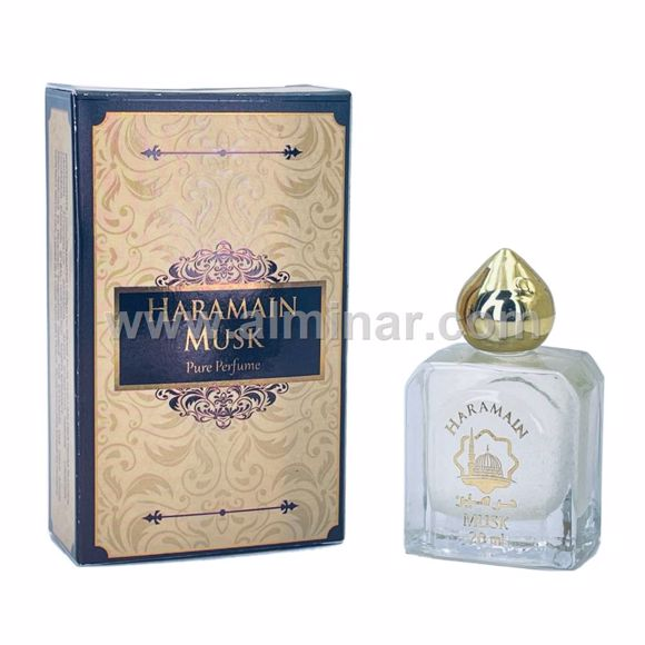 Picture of Haramain Musk - Pure perfume - 20 ml with Rollon - By Haramain