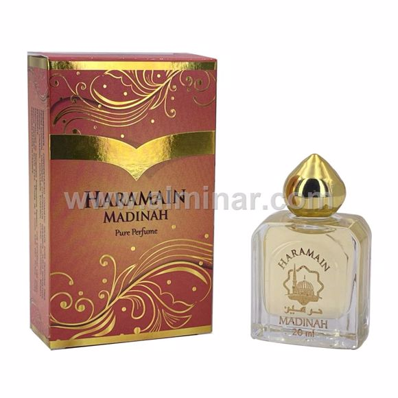 Picture of Haramain Madinah - Pure perfume - 20 ml with Rollon - By Haramain