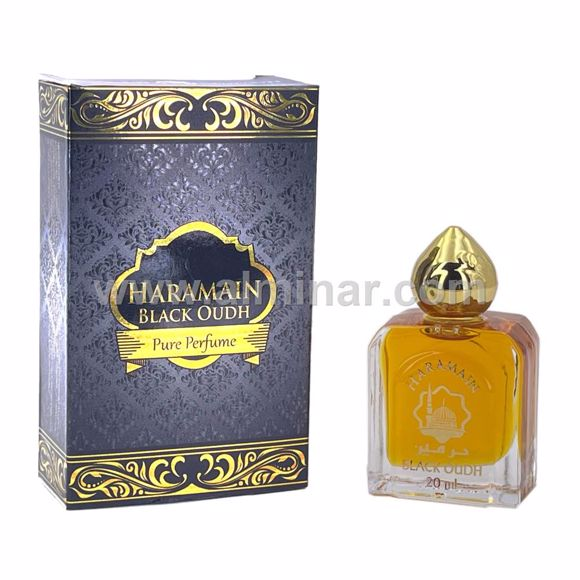 Picture of Haramain Black Oudh - Pure perfume - 20 ml with Rollon - By Haramain